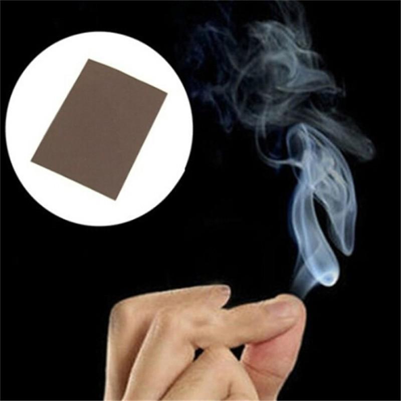 [BEW] 5pcs Magic Trick Smokes Surprise Prank Joke Mystical Fun Magic Smoke Finger Tips [OL]