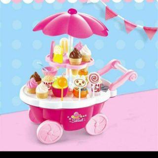 📣📣Xe đẩy kem siêu xinh cho bé.. 📢