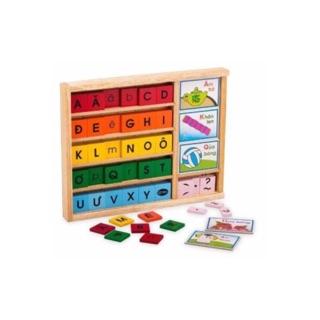 Đồ chơi gỗ bộ học vần Winwin Toys