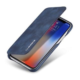 Bao da chất lượng cao họa tiết vỏ sò cho iPhone X XS