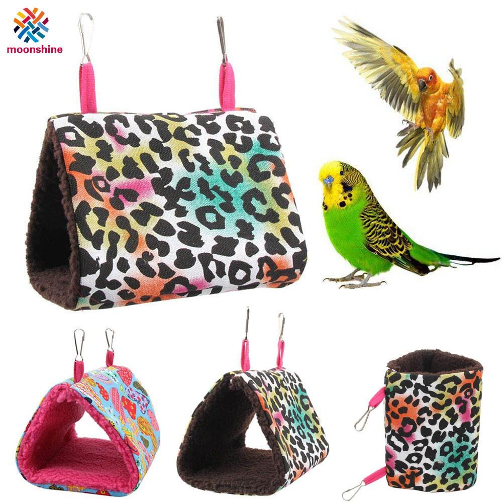 Winter Birds Nest Parrots Hammock Hanging Cage Warm Birds Cage Pet Supplies