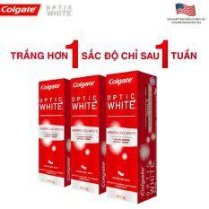 Bộ 3 kem đánh răng Colgate Optic White làm trắng răng 100g - 2498730 , 865731330 , 322_865731330 , 150000 , Bo-3-kem-danh-rang-Colgate-Optic-White-lam-trang-rang-100g-322_865731330 , shopee.vn , Bộ 3 kem đánh răng Colgate Optic White làm trắng răng 100g