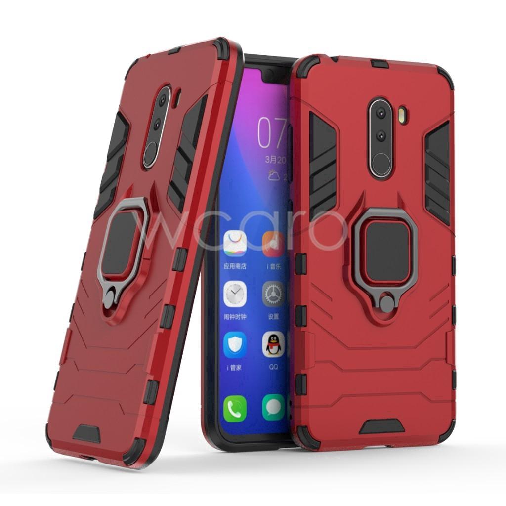 【SEK】Xiaomi Pocophone Poco F1 Phone Case Hard Casing Armor Cover Finger Ring Holder - 14658274 , 1769091202 , 322_1769091202 , 80850 , SEKXiaomi-Pocophone-Poco-F1-Phone-Case-Hard-Casing-Armor-Cover-Finger-Ring-Holder-322_1769091202 , shopee.vn , 【SEK】Xiaomi Pocophone Poco F1 Phone Case Hard Casing Armor Cover Finger Ring Holder