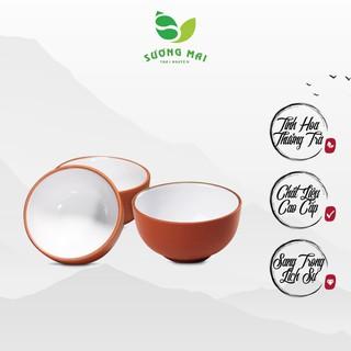 Chén Uống Trà Tử Sa Lòng Trắng Cao Cấp SƯƠNG MAI Màu Sắc Trang Nhã, Sang Trọng - SM00002 thumbnail