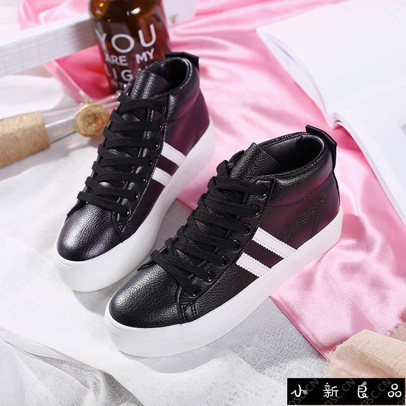 ❤️ ❤️ 2019 new spring black canvas women's shoes Korean vers
