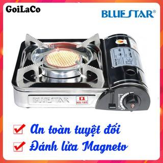 Bếp gas du lịch Bluestar NS-165C ,bếp du lịch hồng ngoại (đánh lửa magneto)