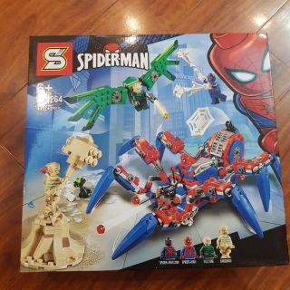 Đồ chơi xếp hình 1264 Marvel Siêu anh hùng Người nhện Spider-Man