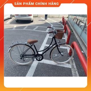Xe đạp nữ phong cách Vintage thương hiệu Maruishi 7 tốc độ với hộp số Sh thumbnail