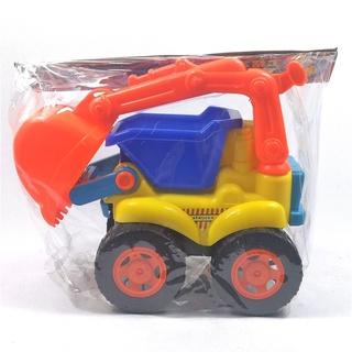 xe oto cần cẩu, xe ben công trình, bánh xe to siêu chắc chắn thumbnail