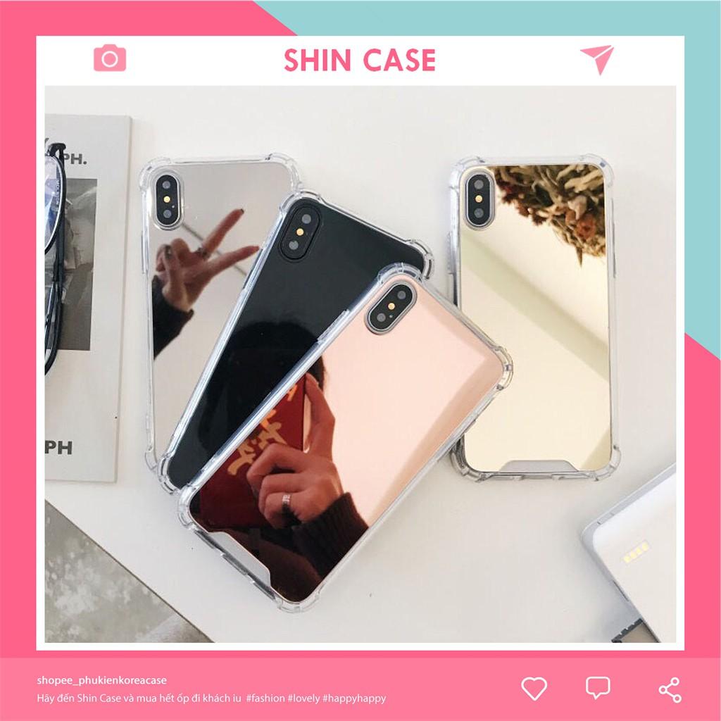 Ốp Lưng iphone tráng gương chống sốc 5/5s/6/6plus/6s/6splus/7/7plus/8/8plus/x/xr/xs/11/12/pro/max/plus/p