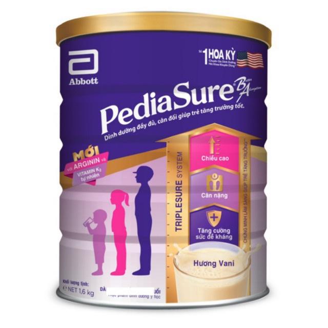 Sữa Pediasure lon 1.6kg. HSD Date 2021.