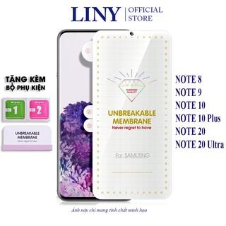 Miếng dán PPF Note 20 Note 20 Ultra Note 10 Note 10 Plus Note 9 Note 8 mặt trước sau chống xước bảo vệ máy