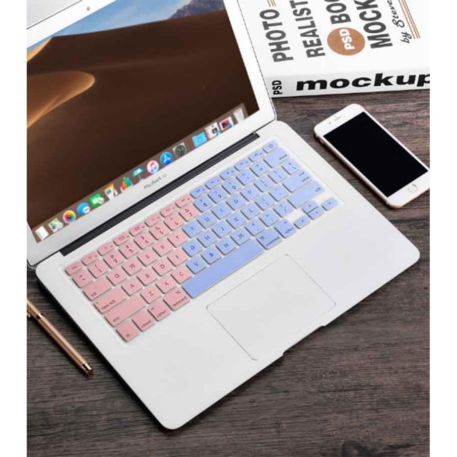 (Nhập BOOT20 Giảm 25k) Case Ốp Macbook Màu Ombre(Tặng Bộ Nút Che Bụi)