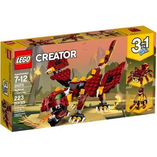 Bộ Xếp Hình LEGO Động Vật Huyền Thoại 9 Trong 1 – LEGO Creator 31073