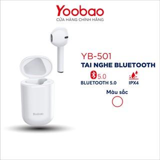 Tai nghe bluetooth TWS Yoobao YB-501 âm thanh nổi dùng cho điện thoại máy tính bảng