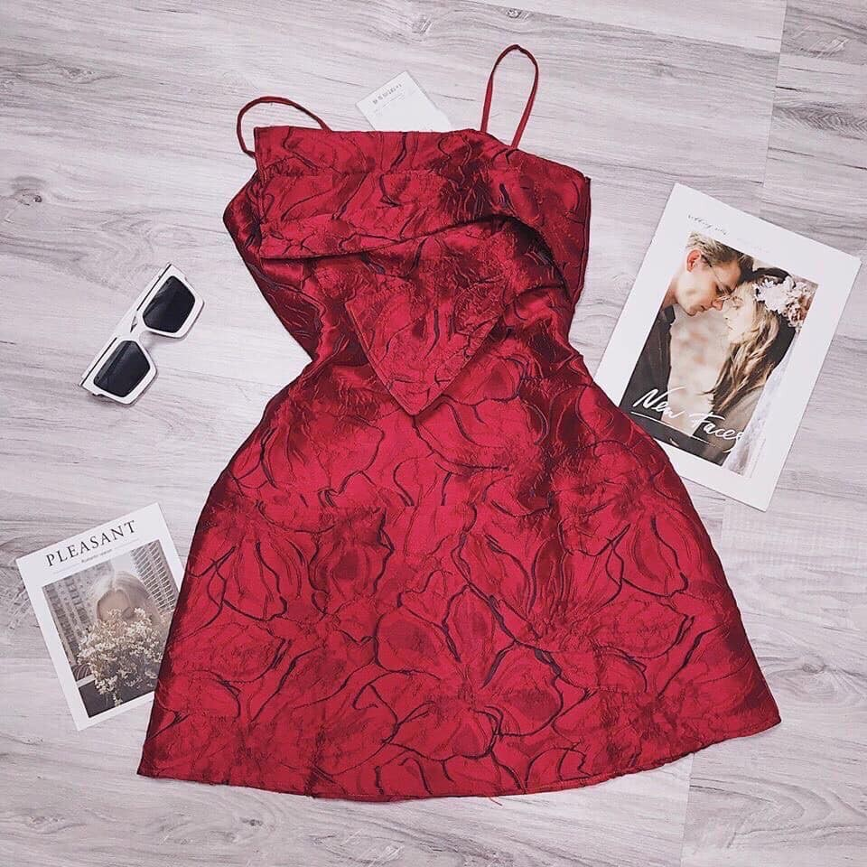 Đầm gấm 2s - sexy