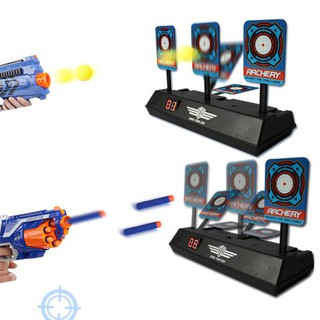 Children Electric Score Bullet Target Toy for Nerf Toys Soft Bullets Blaster