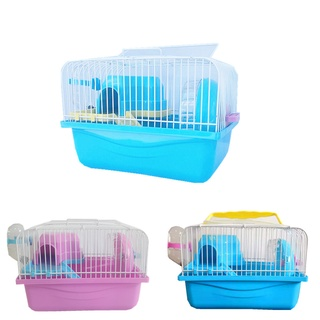 Lồng nuôi chuột hamster mini đầy đủ phụ kiện như hình ảnh [ GIÁ SỐC BẢO HÀNH ĐỔI TRẢ] thumbnail