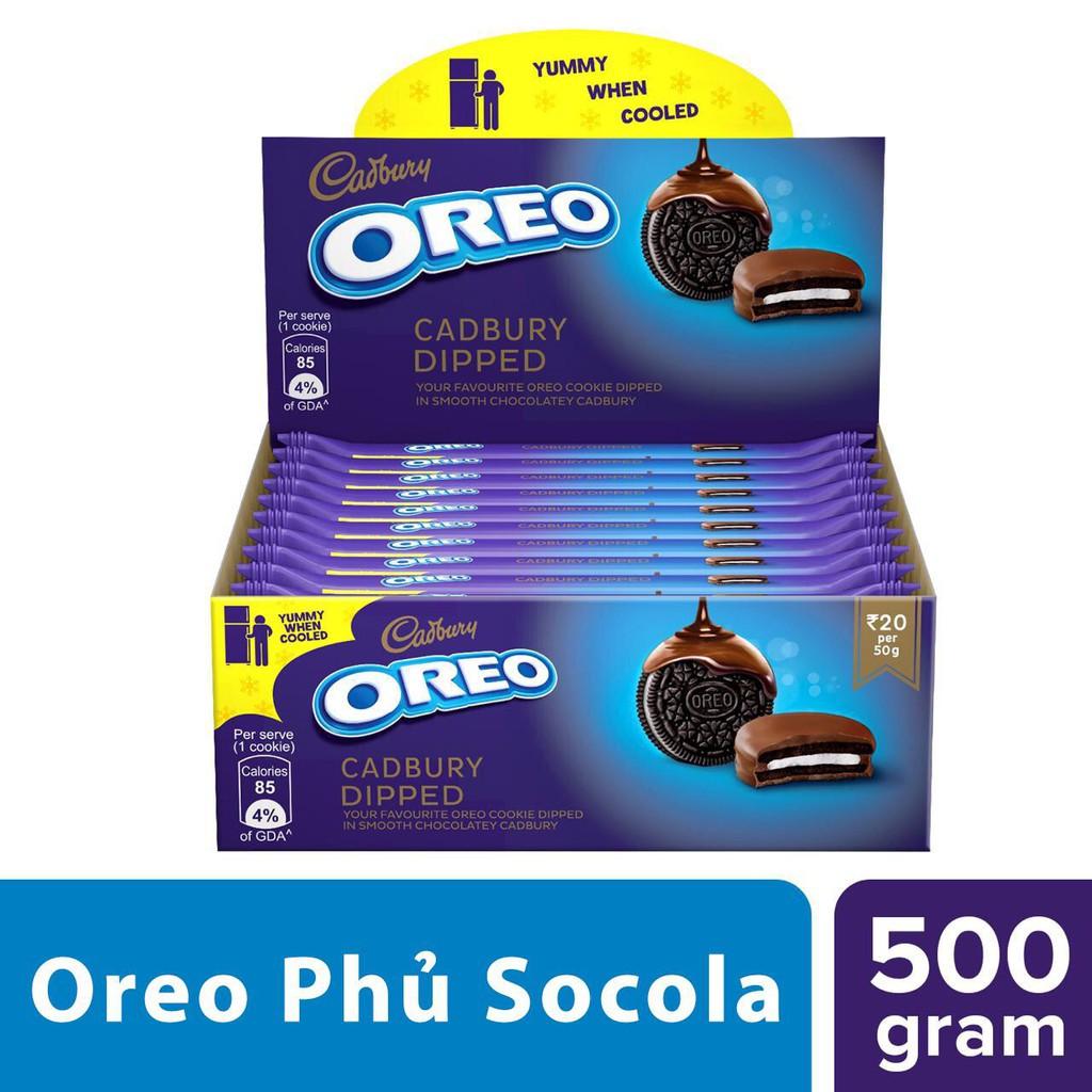 Bánh Quy Oreo phủ Sôcôla Sữa 500g
