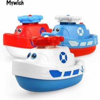 👶🏼Marine Animal Model Bath Toy Baby Toddler Bathroom Electric Spray Water Boat