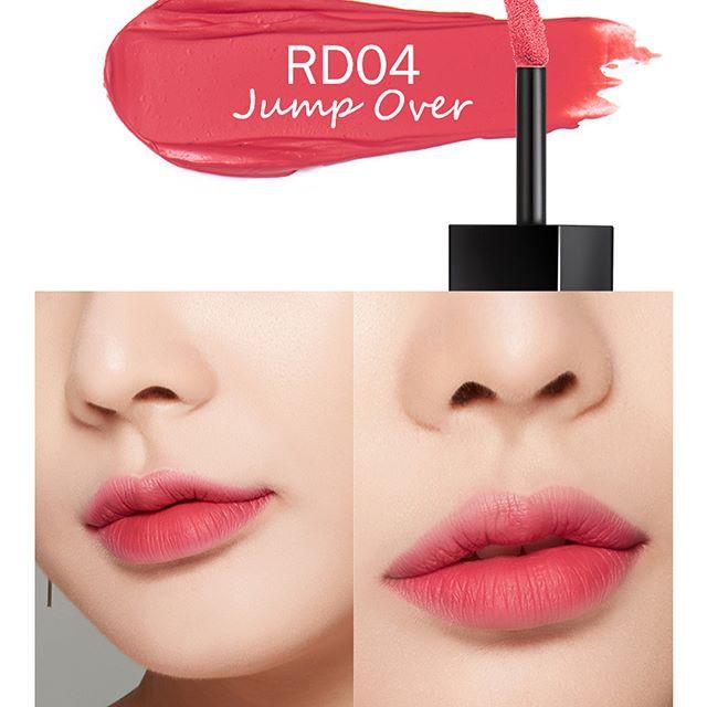 Son Kem Lì A'Pieu Color Lip Stain Matte Fluid #RD04 JUMP OVER