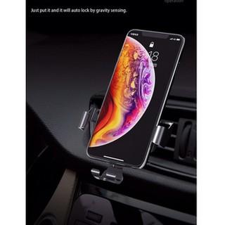 Giá đỡ Rock kẹp điện thoại cửa gió oto xe hơi Gravity air Vent car mount Pro chính hãng- Sản phẩm mới