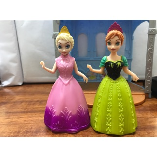 Set 2 búp bê Elsa và Anna chính hãng disney