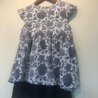 Áo hoa phong cách Hàn cho bé