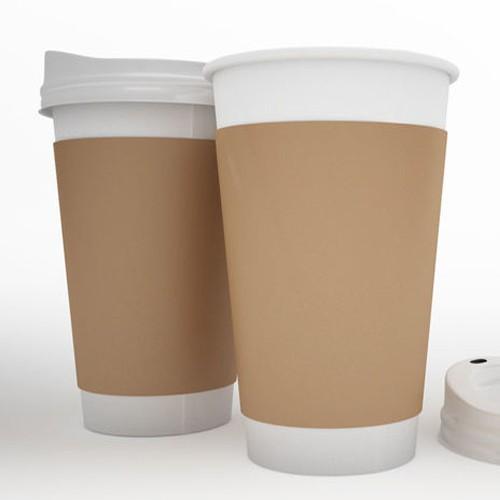 In ly giấy 12oz dùng cho cà phê mang đi