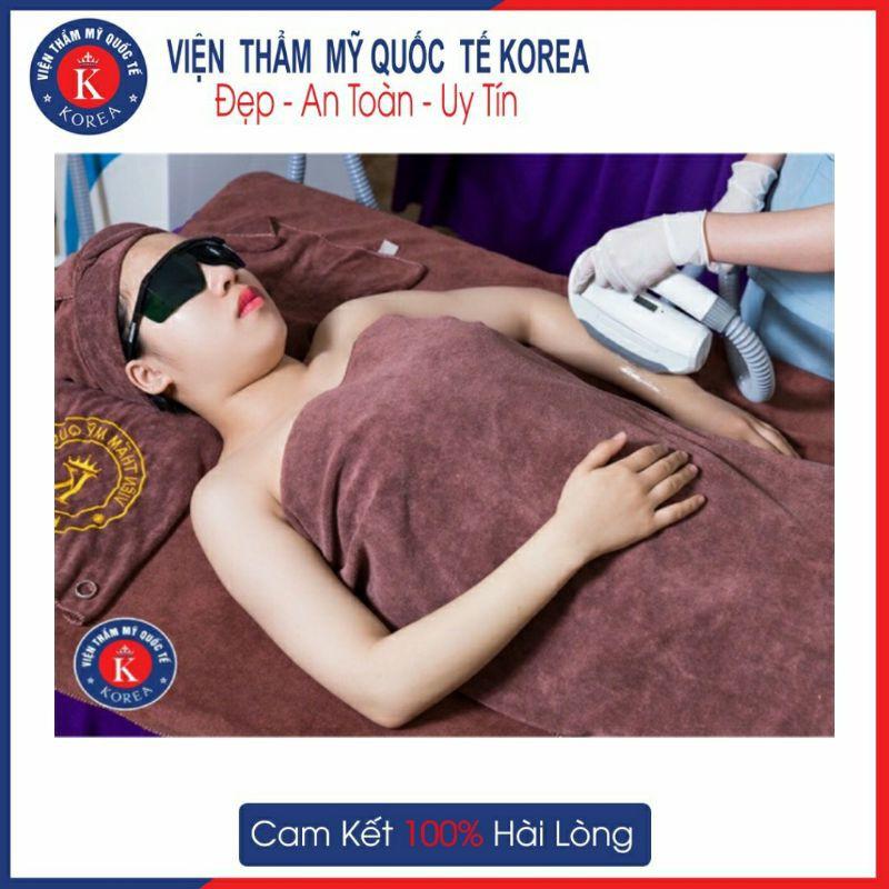 HN [Voucher] - Triệt Lông Vĩnh Viễn Nano light Hàn Quốc công nghệ mới nhất 2020 (10 Lần) Tại VTMQT KOREA