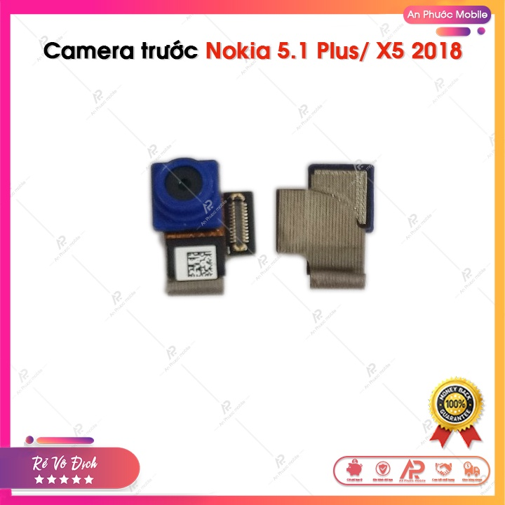 Camera Trước Nokia X5 2018/ 5.1 Plus - Cam Trước Điện Thoại Nokia 5.1+ Zin Bóc Máy