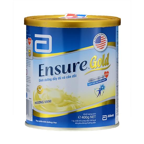 Sữa Bột Ensure Gold Hộp 400g - 3002838 , 449691932 , 322_449691932 , 332500 , Sua-Bot-Ensure-Gold-Hop-400g-322_449691932 , shopee.vn , Sữa Bột Ensure Gold Hộp 400g