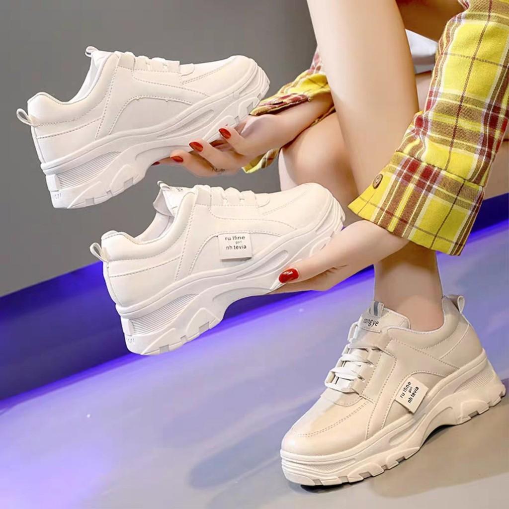 Giày sneakers nữ Rong Ye Rufine kiểu hàn quốc Ulzzang siêu Hot , mới nhất HAPU ( ảnh t
