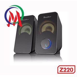 [Mã ELFLASH5 giảm 20K đơn 50K] [BH 12 THÁNG] Loa vi tính 2.0 Bosston Z220 có đèn Led RGB