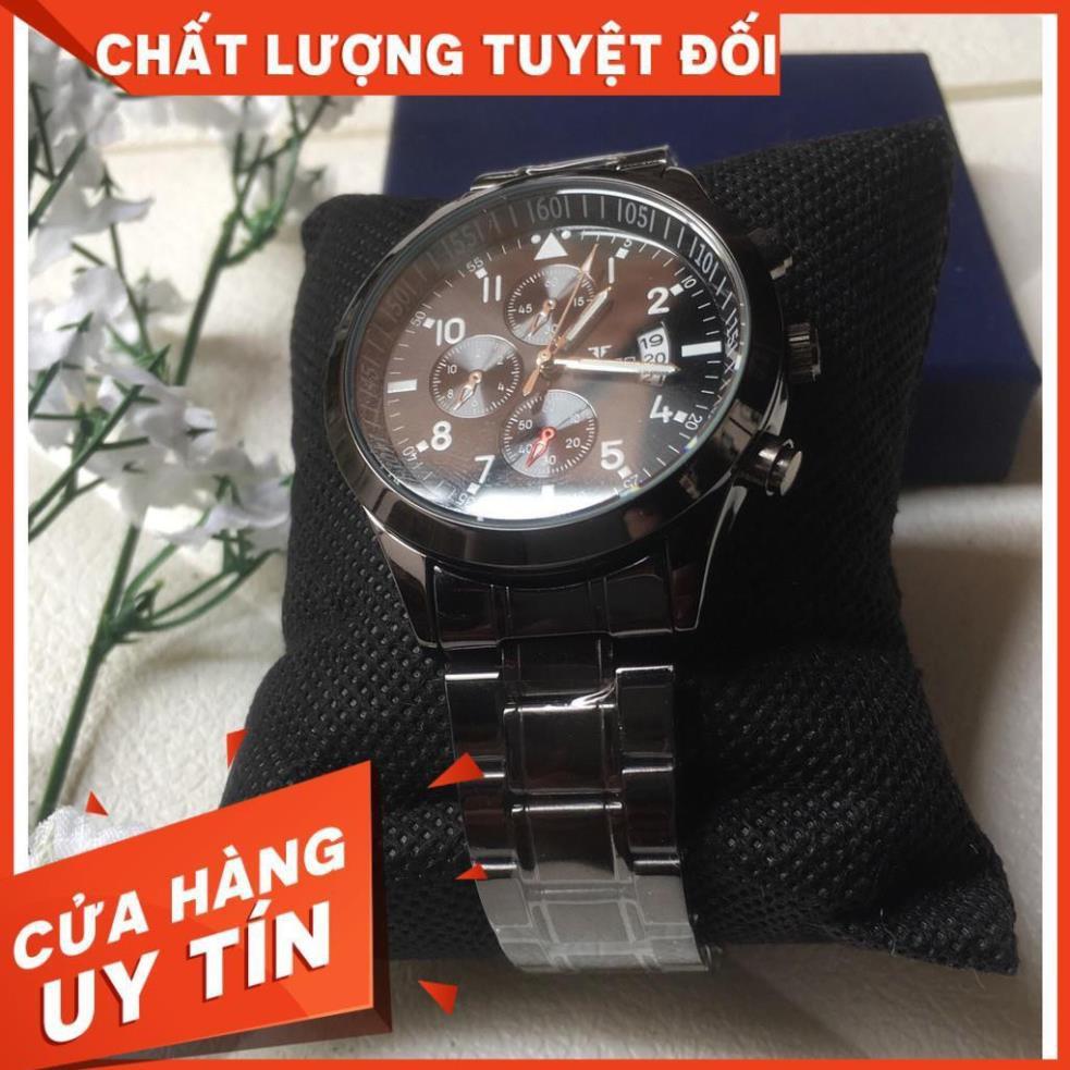 (CHÍNH HÃNG) Đồng Hồ Nam FNGEEN Doanh Nhân Dây Hợp Kim Thép Không GỈ Cao Cấp (MÃ: FN11)