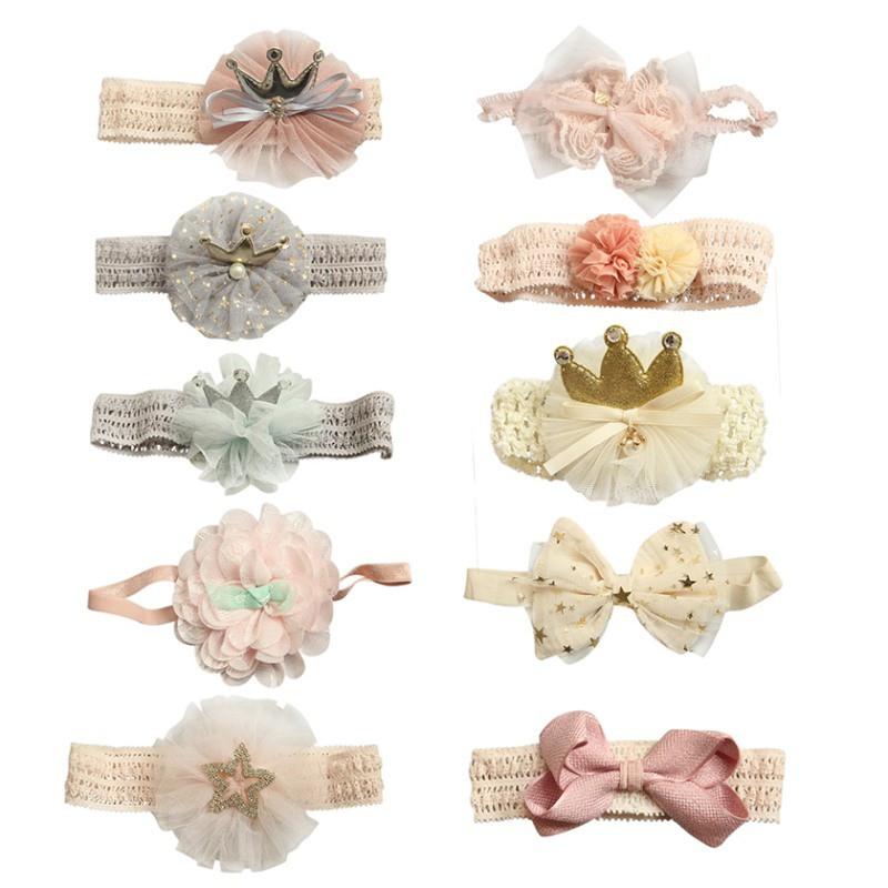 Băng đô xinh xắn nhiều kiểu dáng để lựa chọn dành cho các bé gái