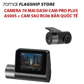[Bản quốc tế] Camera hành trình ô tô xe hơi 70mai Pro Plus A500S A500 cam lùi RC06 thumbnail