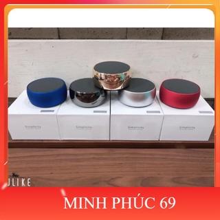Loa Bluetooth Mini BS01 Vỏ Kim Loại, Âm Thanh Hay(Có Khe Cắm Thẻ Nhớ, Cổng 3.5)