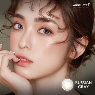 [SIÊU TỰ NHIÊN] Kính áp tròng Angel Eyes RUSSIAN - Lens xám tây chất liệu Silicone - Đường kính 14.0 - Độ cận 0-6 thumbnail