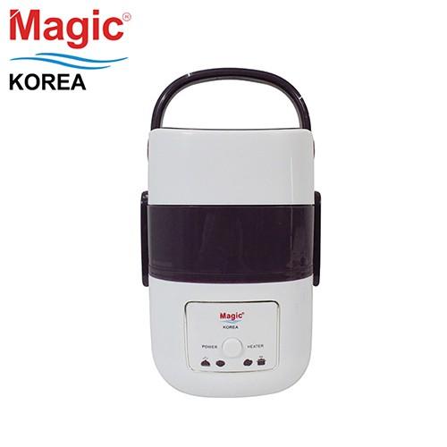 Hộp nấu và hâm cơm 03 tầng Magic Korea A06 (Trắng)