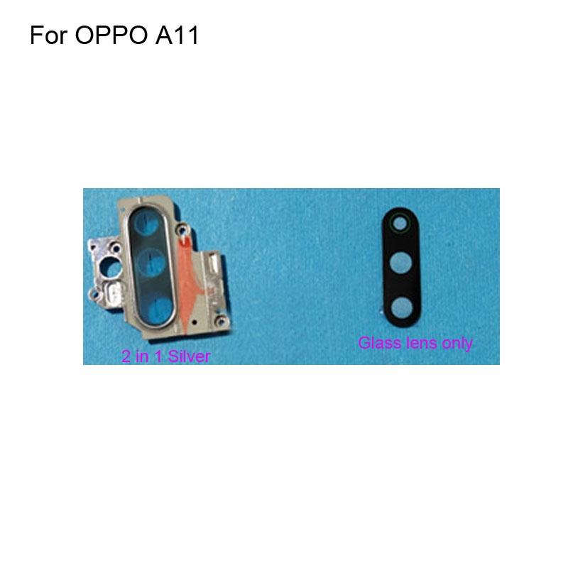 Ốp Điện Thoại Mặt Kính + Khung Bảo Vệ Camera Sau Thay Thế Chuyên Dụng Cho OPPO A11 / 11