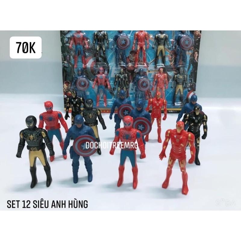 set 12 siêu anh hùng cho bé