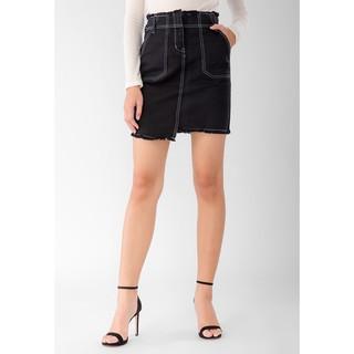 [Mã WANR214 hoàn 15% tối đa 30k xu đơn 150k] 91 Aninetyone - Chân Váy Jeans Nữ Thời Trang 005 (Đen)