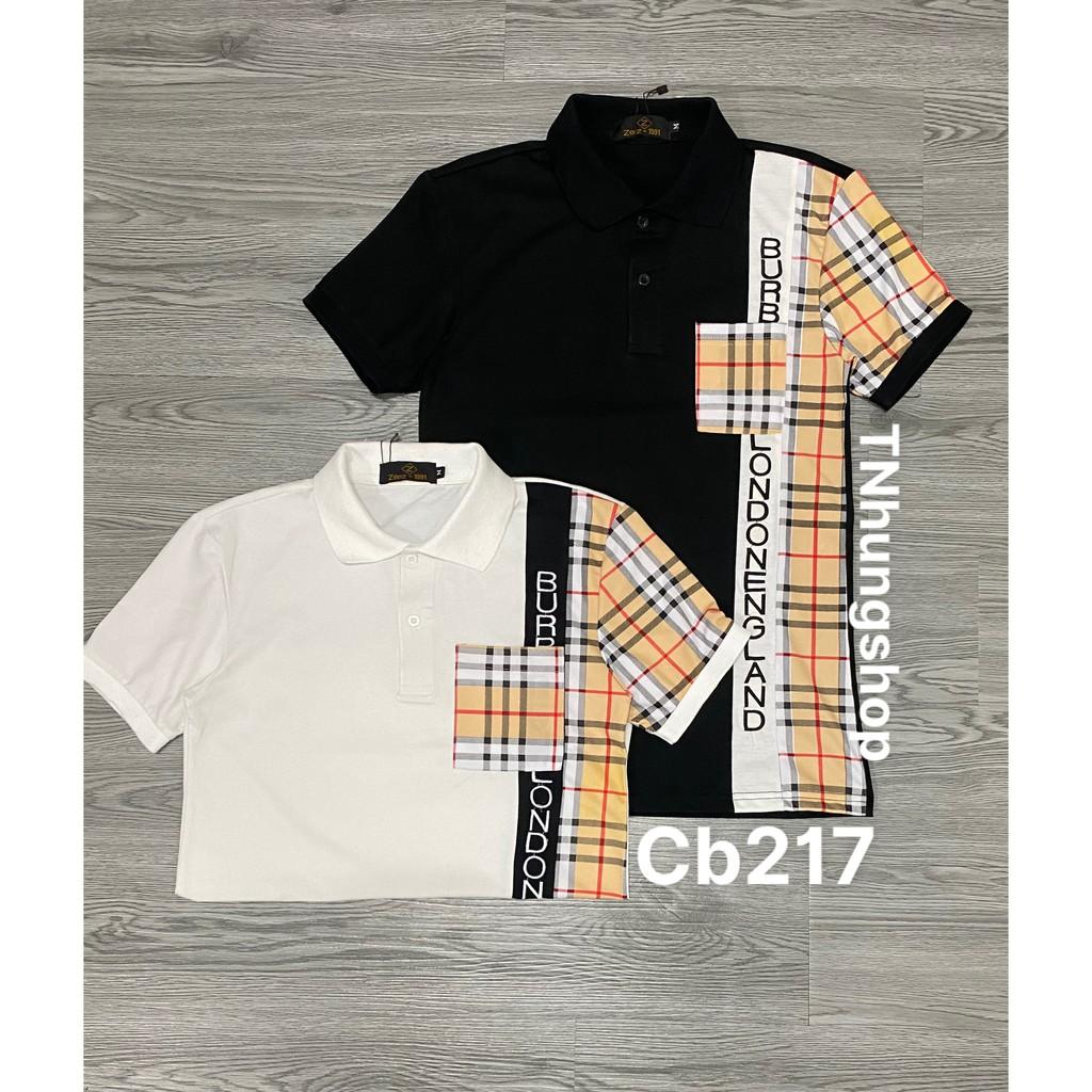 Sỉ áo thun áo phông nam polo ngắn tay có cổ giảm giá Mã cb217 tnhung