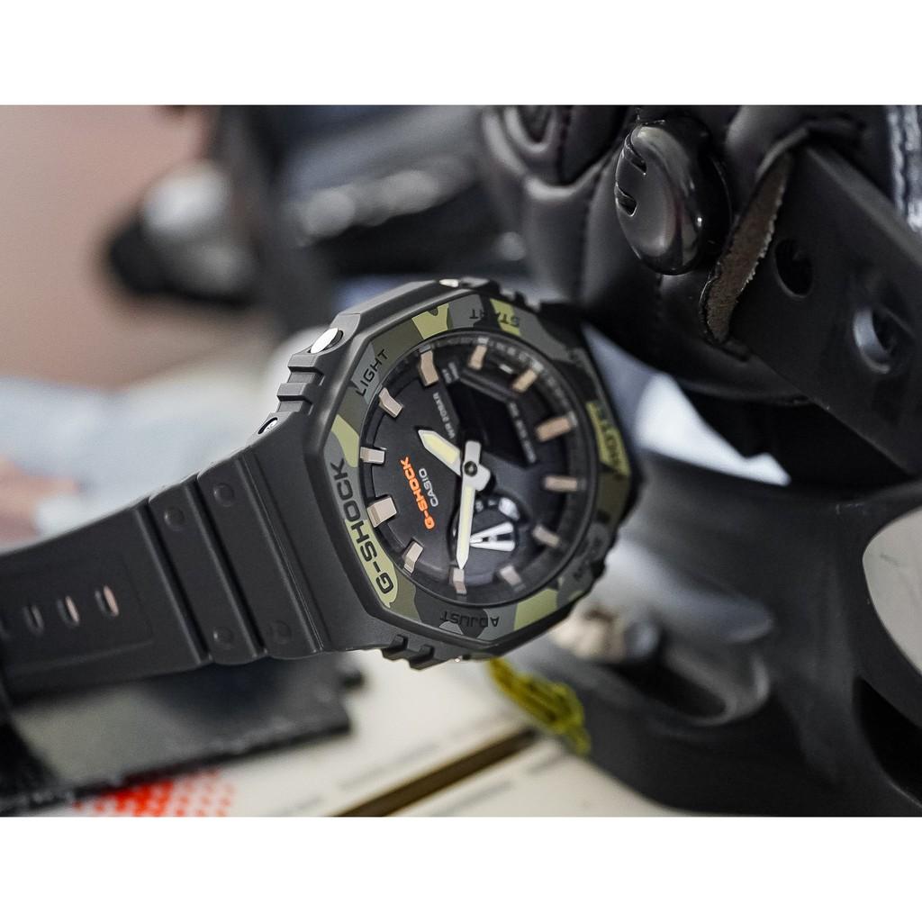 Đồng Hồ Nam Casio G-Shock GA-2100SU-1A Chính Hãng - Dây Nhựa   G-Shock GA-2100SU-1AD