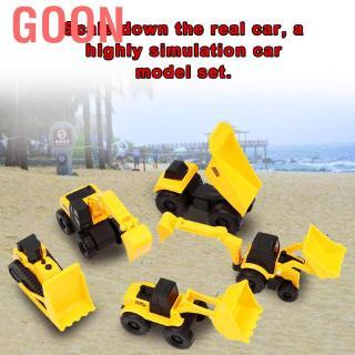 Goon Woyisisi 5pcs / set Mini child Kid Engineering Car Model Toy high simulation vehicle toys gift