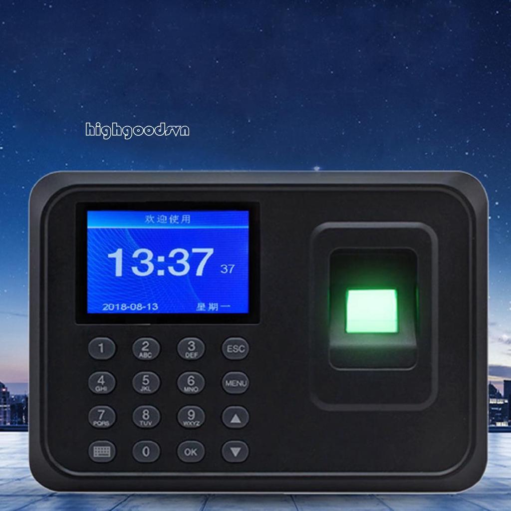 hi Fingerprint Password Attendance Machine Fingerprint Identification Drive-free Attendance Equipment