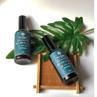 TINH CHẤT TRỊ RỤNG VÀ MỌC TÓC Organic Hair Growth Spray – handmade BY LAM ORGANIC