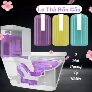 Lọ thả bồn cầu hàn quốc lọ tẩy bồn cầu diệt khuẩn khử mùi phiên bản mới với 3 màu sắc tự nhiên thumbnail