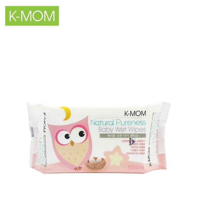 Khăn ướt cao cấp K-Mom Hàn Quốc (100c)